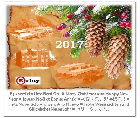 Frohe Weihnachten und glückliches 2017! — Elay
