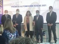 ACICAE entrega un premio a el grupo ELAY como empresa destacada de automoción