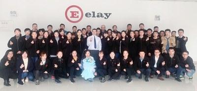 Elay a un nouveau Directeur d'usine à Kunshan (Chine)
