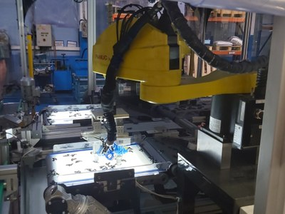 New steps in the use of machine vision for quality control of parts.